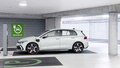 VW Golf GTE 2020, ladesäule, laden