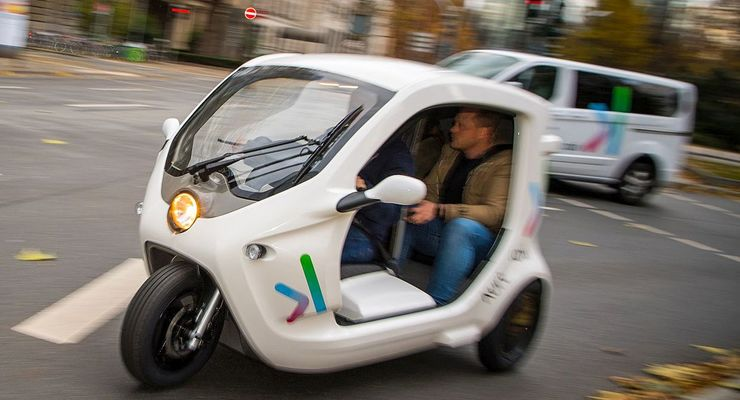 Wie bestellt und abgeholt: ioki macht in Frankfurt mobil