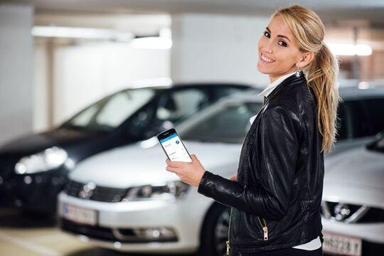 Witte Automotive Tapkey digitaler Autoschlüssel smartphone RFID