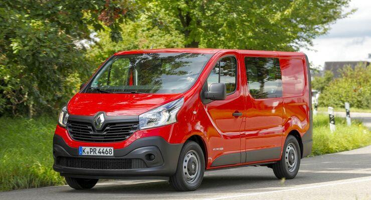 Renault Trafic 1 6 Dci 140 Leises Kraftpaket Firmenauto